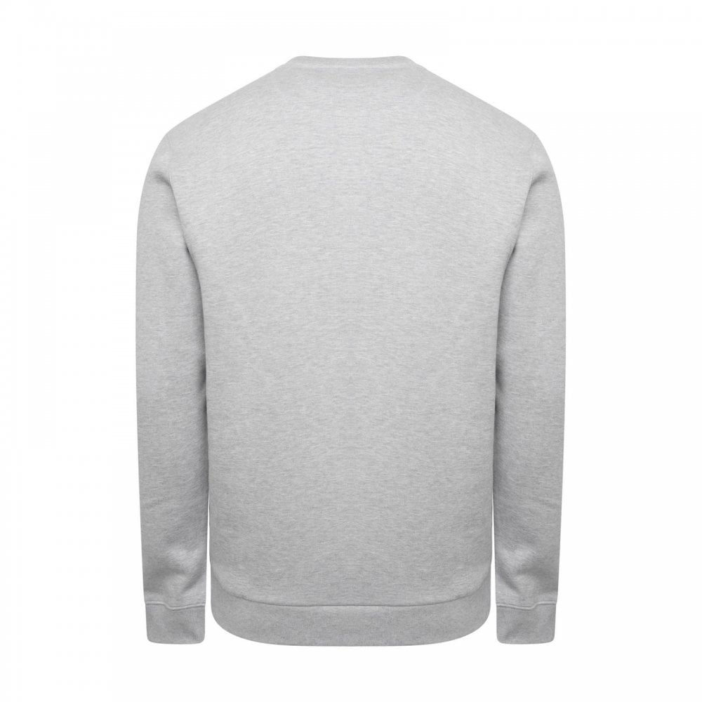 ed529f4410e3 Lacoste Mens Plain Crew Sweatshirt (Grey) - Mens from Loofes UK