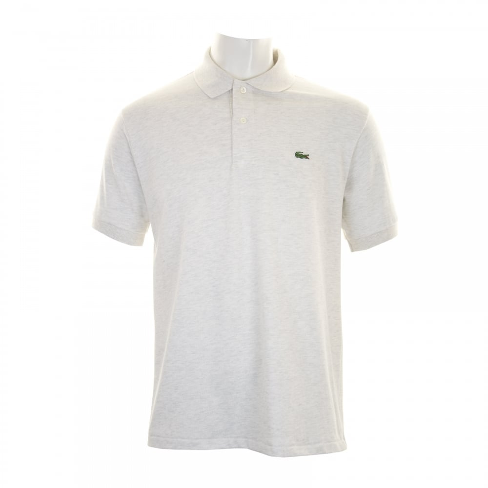 Lacoste Mens Plain Polo Shirt (Cream) - Mens from Loofes UK