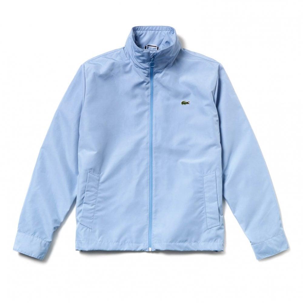 a642fbee Mens Short Taffeta Windbreaker Jacket (Sky Blue)