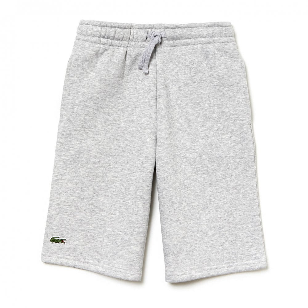 81699c31fa2708 Lacoste Sport Juniors Fleece Shorts (Grey) - Kids from Loofes UK