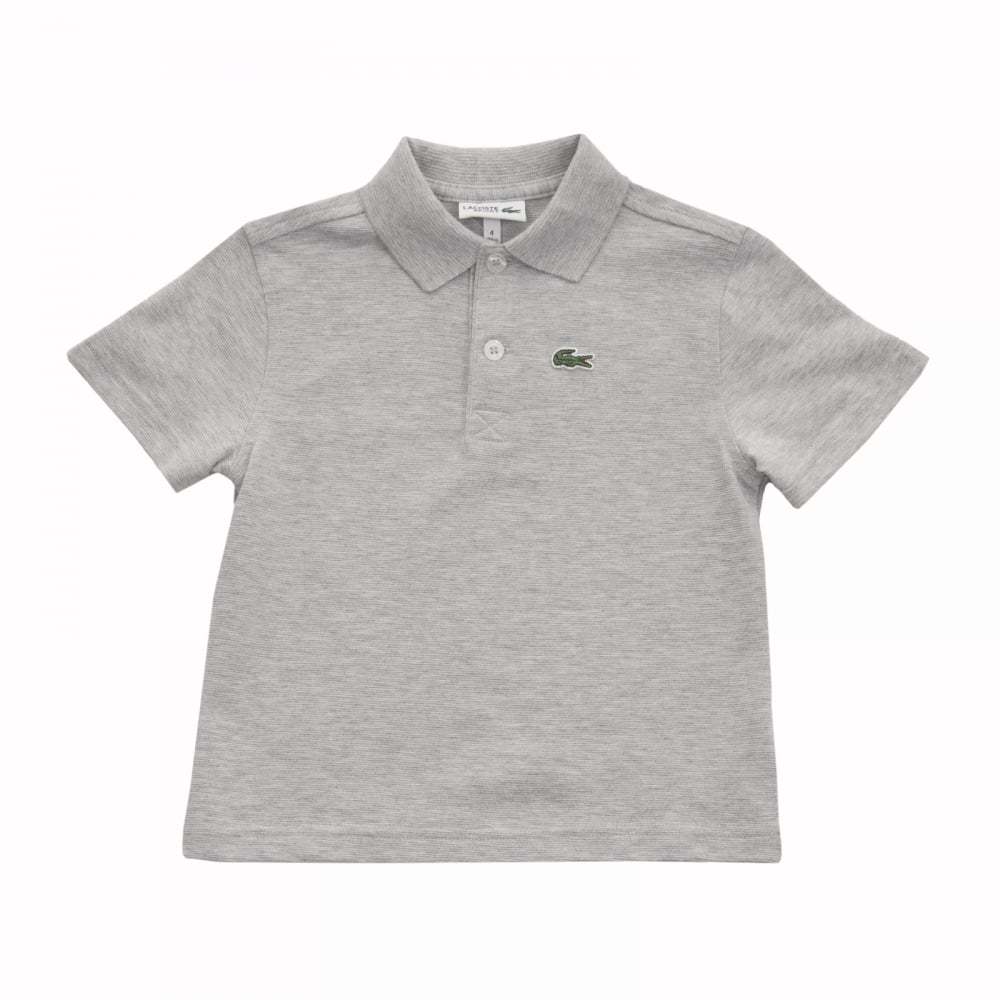 1a7c6b87b Lacoste Sport Juniors Pique Polo Shirt (Grey) - Kids from Loofes UK