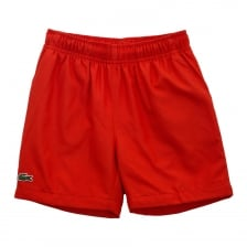 Lacoste Sport Juniors Shorts (Red)