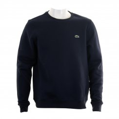Lacoste Sport Mens Fleece Crew Sweatshirt (Navy)