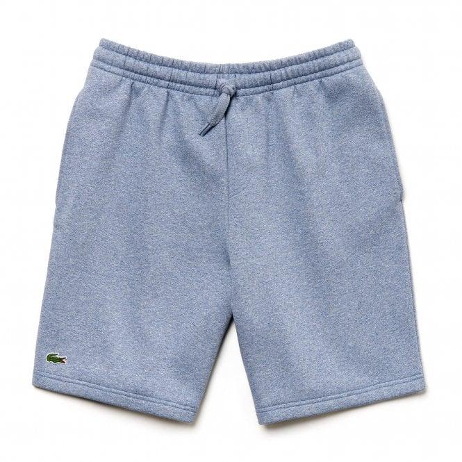 e361a5759c350e Lacoste Sport Mens Fleece Shorts (Blue Grey) - Mens from Loofes UK