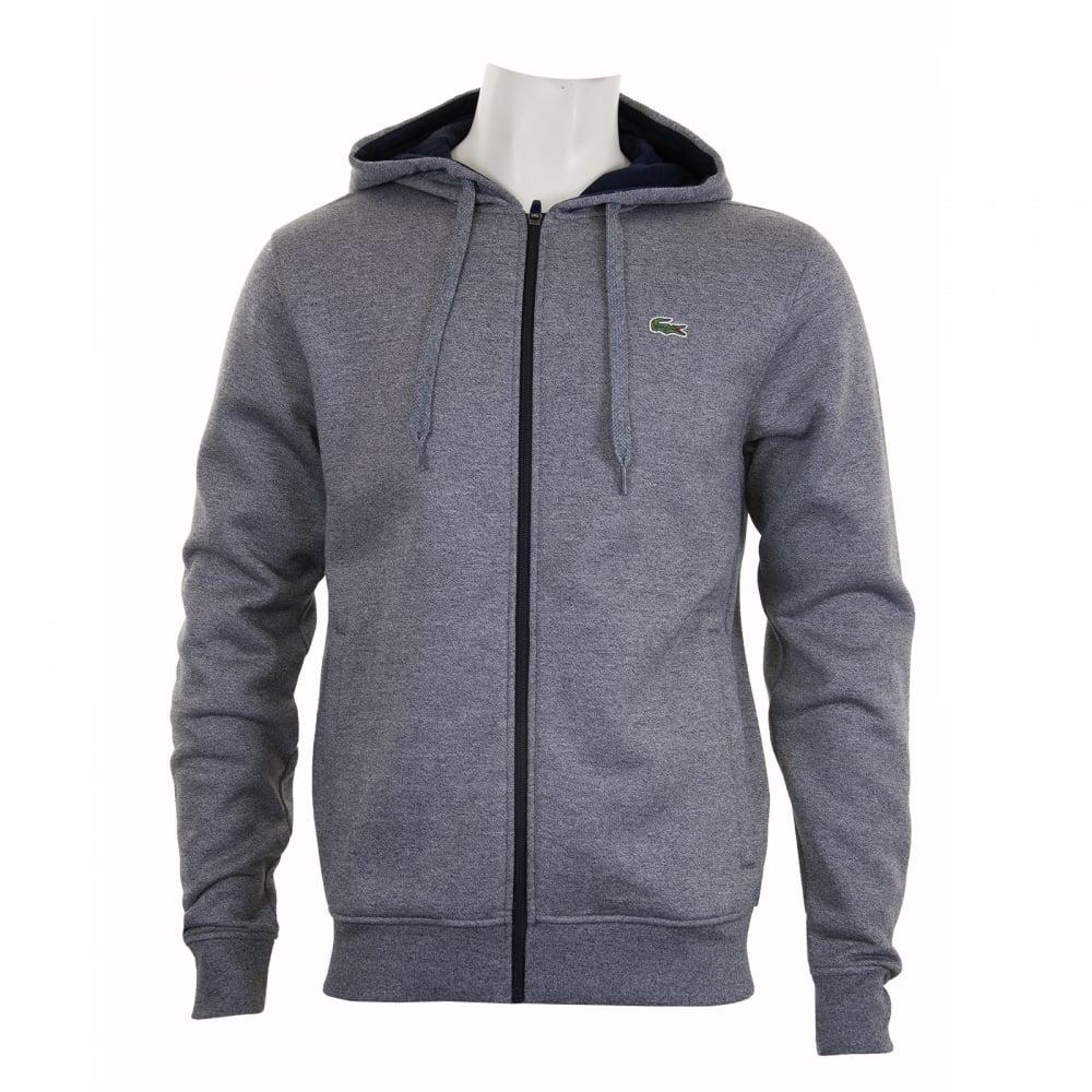 1a0712de30f7 Lacoste Zip Through Logo Hoody Mens Hoodies Shop Mens Hoodies COLOUR ...