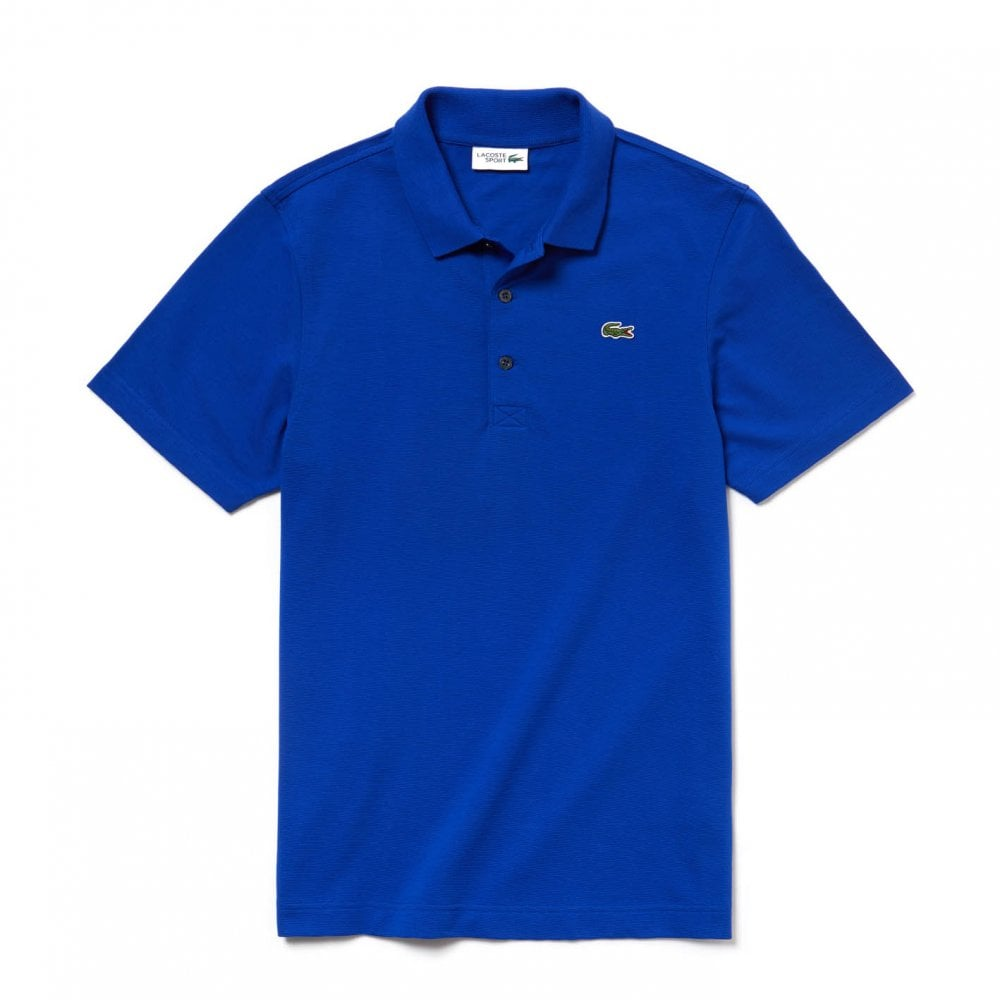 fe4d812ff Lacoste Sport Mens Plain Polo Shirt (Royal) - Mens from Loofes UK