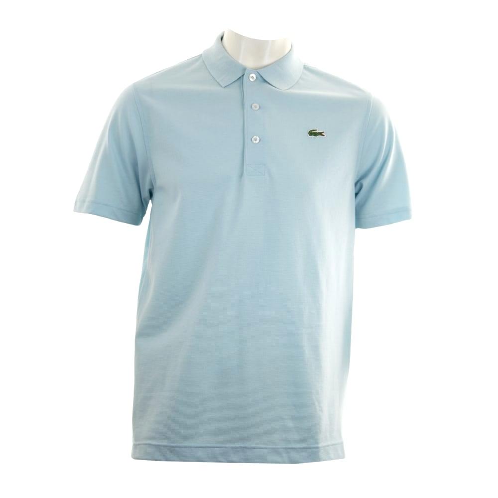Lacoste Sport Mens Plain Polo T Shirt (Sky Blue) Polo 89259750ca5