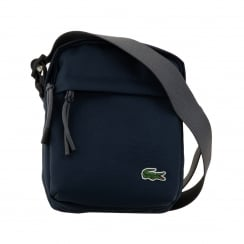 Lacoste Vertical Camera Bag (Navy)