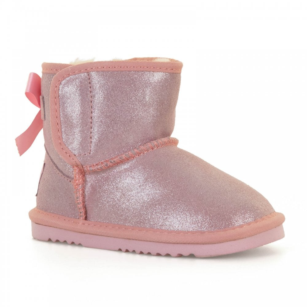 bd315877f2fa5 Lelli Kelly Infants Agathe Glitter Boots (Pink) - Kids from Loofes UK