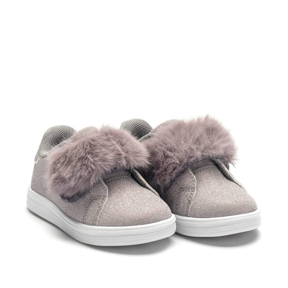 lelli kelly silver trainers discount