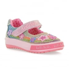 Lelli Kelly Infants Rainbow Shoes (Pink)