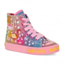 Lelli Kelly Juniors Flamingo Boots (Multi-Coloured)