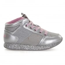Lelli Kelly Juniors Giraffe Trainers (Silver)