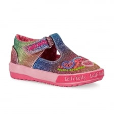 Lelli Kelly Juniors Hearts Shoes (Multi-Coloured)