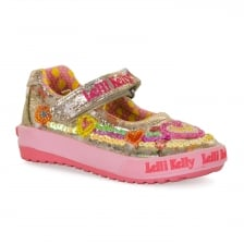 Lelli Kelly Juniors Mila Shoes (Gold)