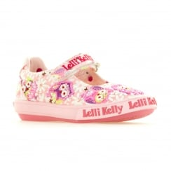 Lelli Kelly Juniors Owl Shoes (Pink)