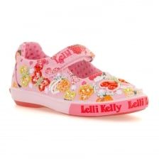 Lelli Kelly Juniors Papillon Shoes (Pink)
