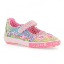 Lelli Kelly Juniors Rainbow Shoes (Pink)