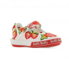 Lelli Kelly Juniors Strawberry Shoes (White)
