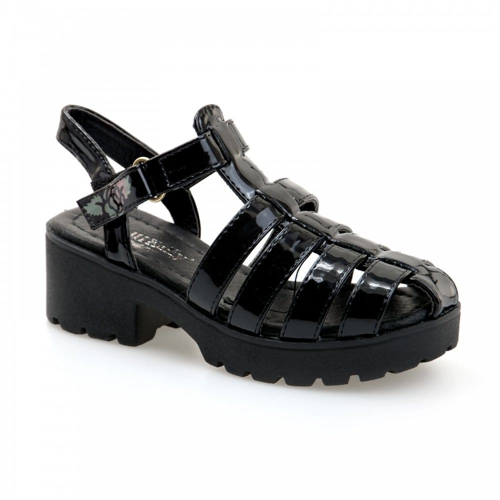 Black sandals juniors - Lelli Kelly Juniors Vivian Sandals Black