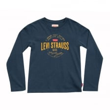 Levis Juniors Pyonier T-Shirt (Blue)