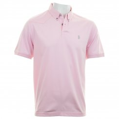 Luke Mens 1977 Ali Pali Collar Jersey Polo Shirt (Pink)