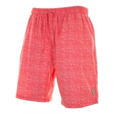 Luke Mens Cagy's Knee Length Print Swim Shorts (Red)
