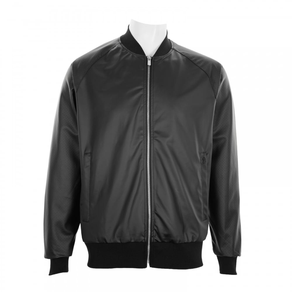 Luke Mens Caperwowme Bomber Jacket (Black) - Mens from Loofes UK