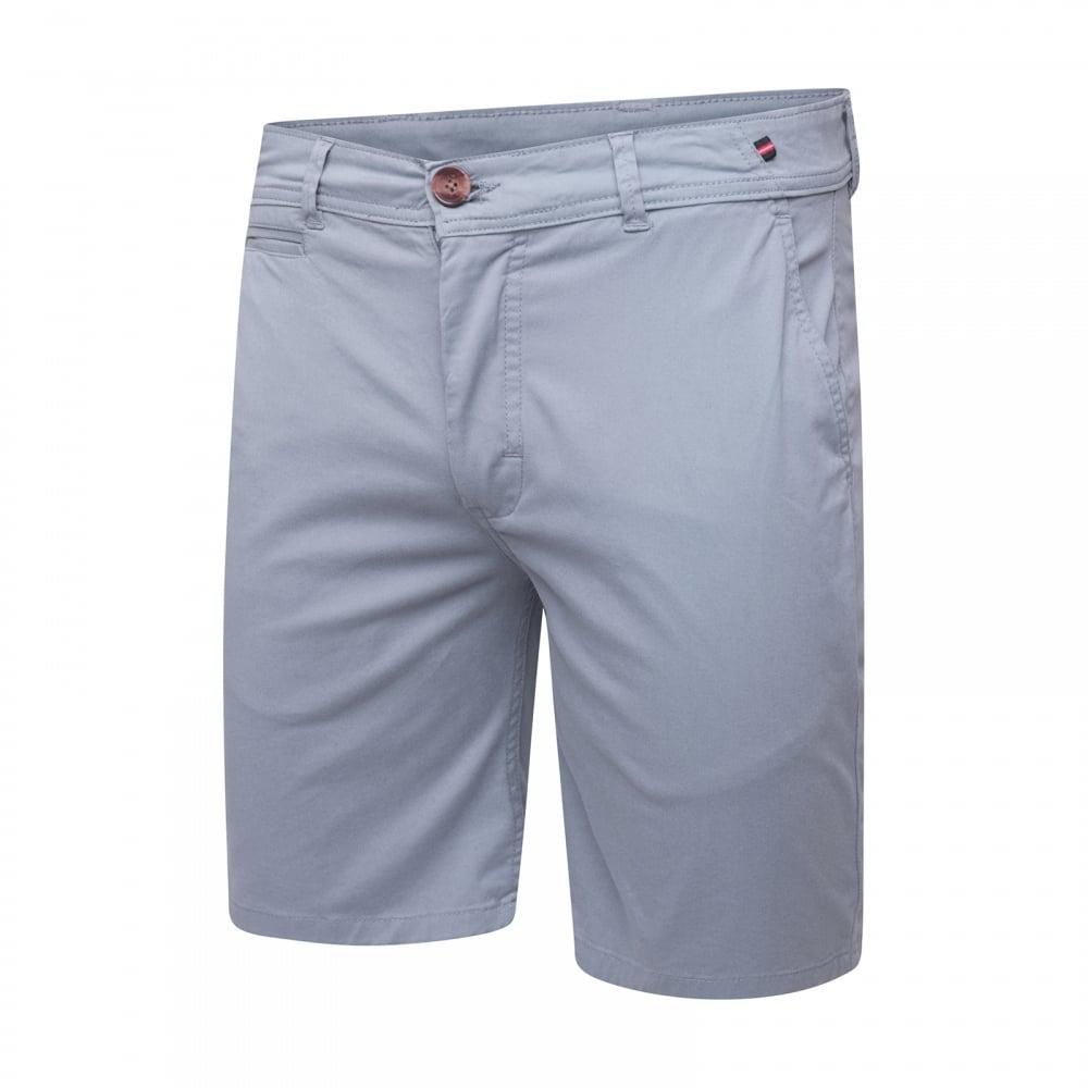 Luke Mens Corbitt Tailored Chino Shorts Blue Mens From Loofes Uk