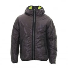 Luke Mens Emersion Reversible Quilted Jacket (Wine)