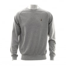 Luke Mens Fresh Guy Crew Neck Sweatshirt (Grey)