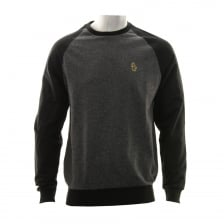 Luke Mens Sport All Places Crew Neck Sweatshirt (Charcoal)