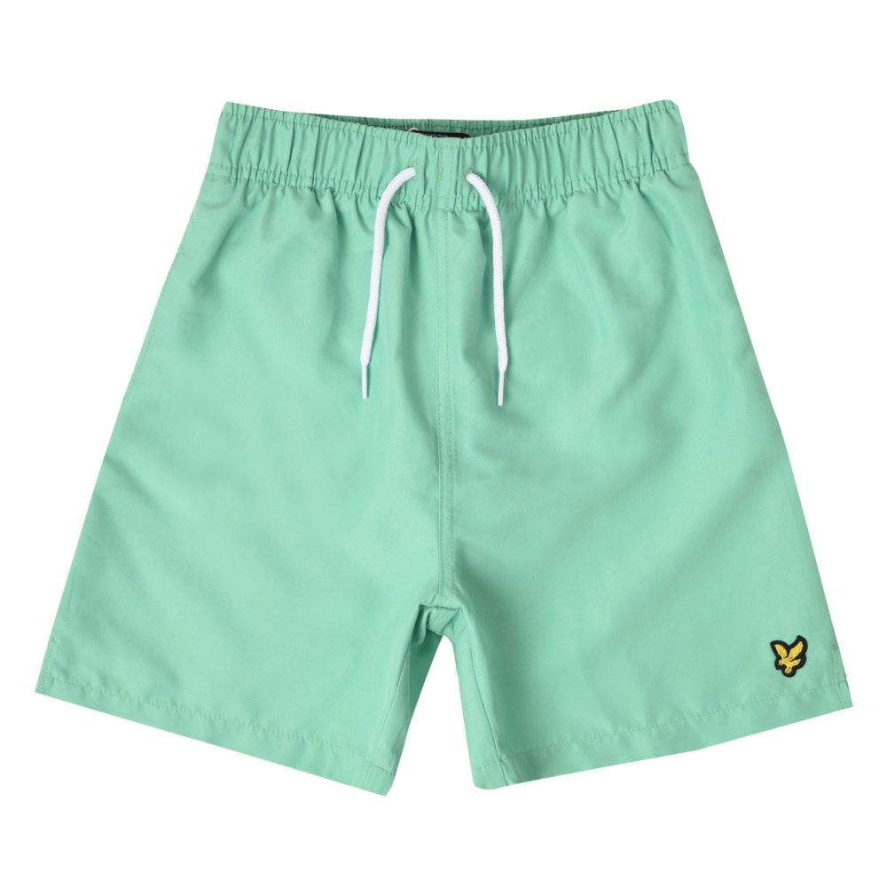 8ba9049c0c Lyle & Scott Juniors Classic Swim Shorts (Green) - Kids from Loofes UK