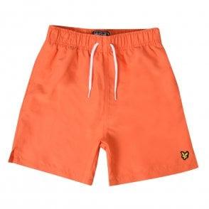 349b4ac79aeaf Lacoste Juniors Print Swim Shorts (Blue) - Kids from Loofes UK