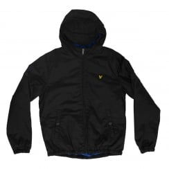 Lyle & Scott Youths Classic 316 Hooded Jacket (True Black)
