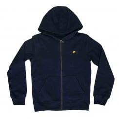 Lyle & Scott Youths Classic 316 Hooded Top (Deep Indigo)