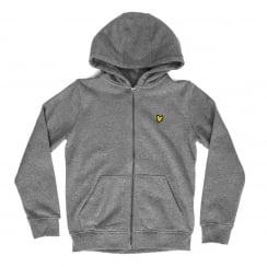 Lyle & Scott Youths Classic 316 Hooded Top (Mid Grey Marl)