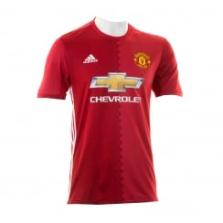 Man United Home Short Sleeve 2016/17