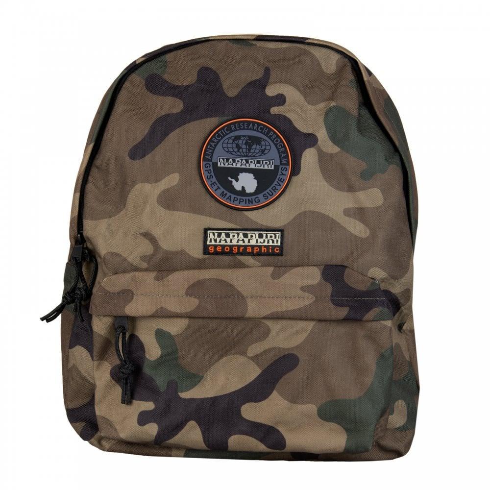 a0a4fa3a36e Napapijri Voyage Camo Backpack (Green) - Mens from Loofes UK