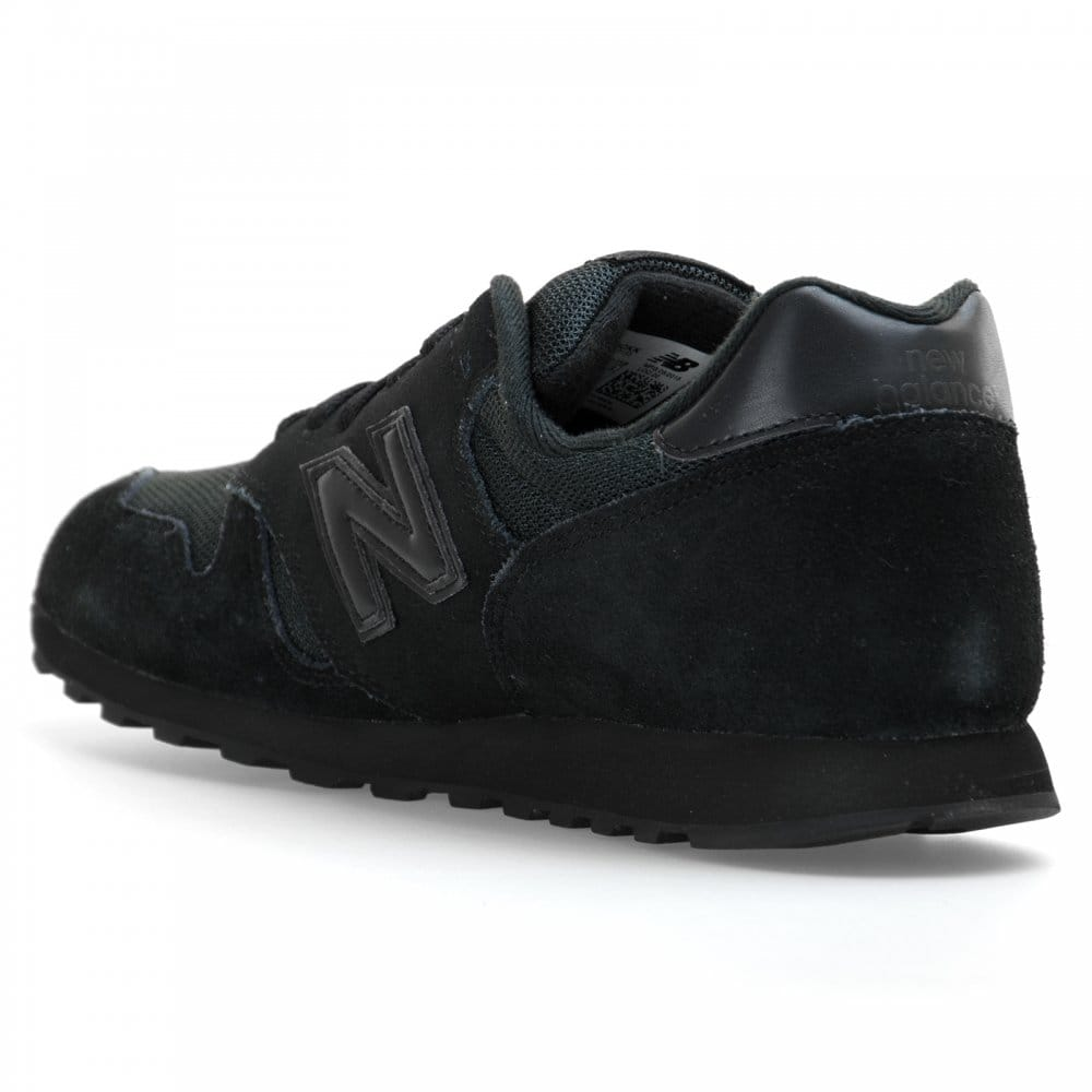 new balance 373 trainers black