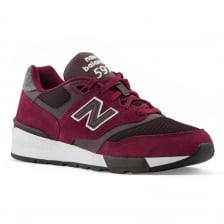 New Balance Mens 317 Trainers (Maroon)