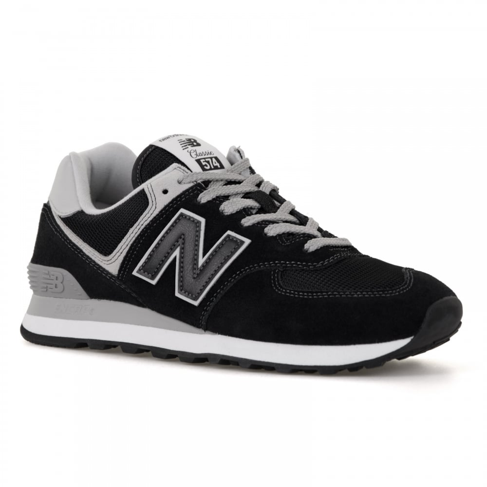 half off 07feb 5f2cf Mens 574 Trainers (Black)