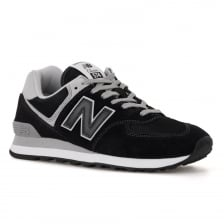 New Balance Mens 574 Trainers (Black)