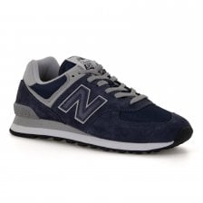 New Balance Mens 574 Trainers (Navy)