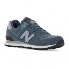 New Balance Mens ML574 316 Trainers (Blue/Grey)