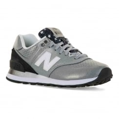 New Balance Womens ML574 Gradient 316 Trainers (Silver)