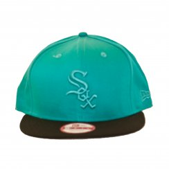 New Era Mens NFL 9Fifty Chicago White Sox Snapback Cap (Teal/Black)