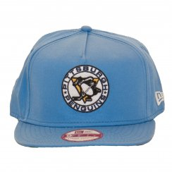 New Era Mens NHL 9Fifty Pittsburg Penguins Snapback Cap (Blue)