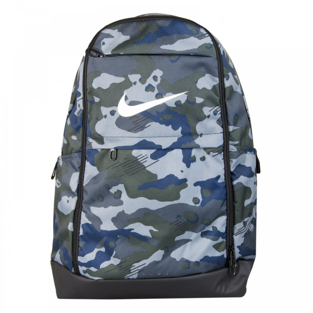 Nike Brasilia Camo Backpack AW18(Grey) - Bags from Loofes UK 287e93158f