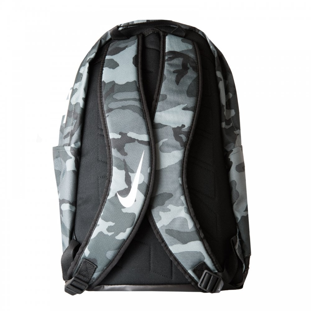 Nike Brasilia Camo Backpack (Grey) - Bags from Loofes UK 963d84cb56